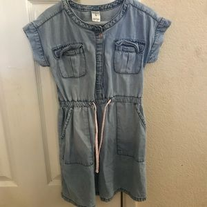 Carters Denim dress sz 5